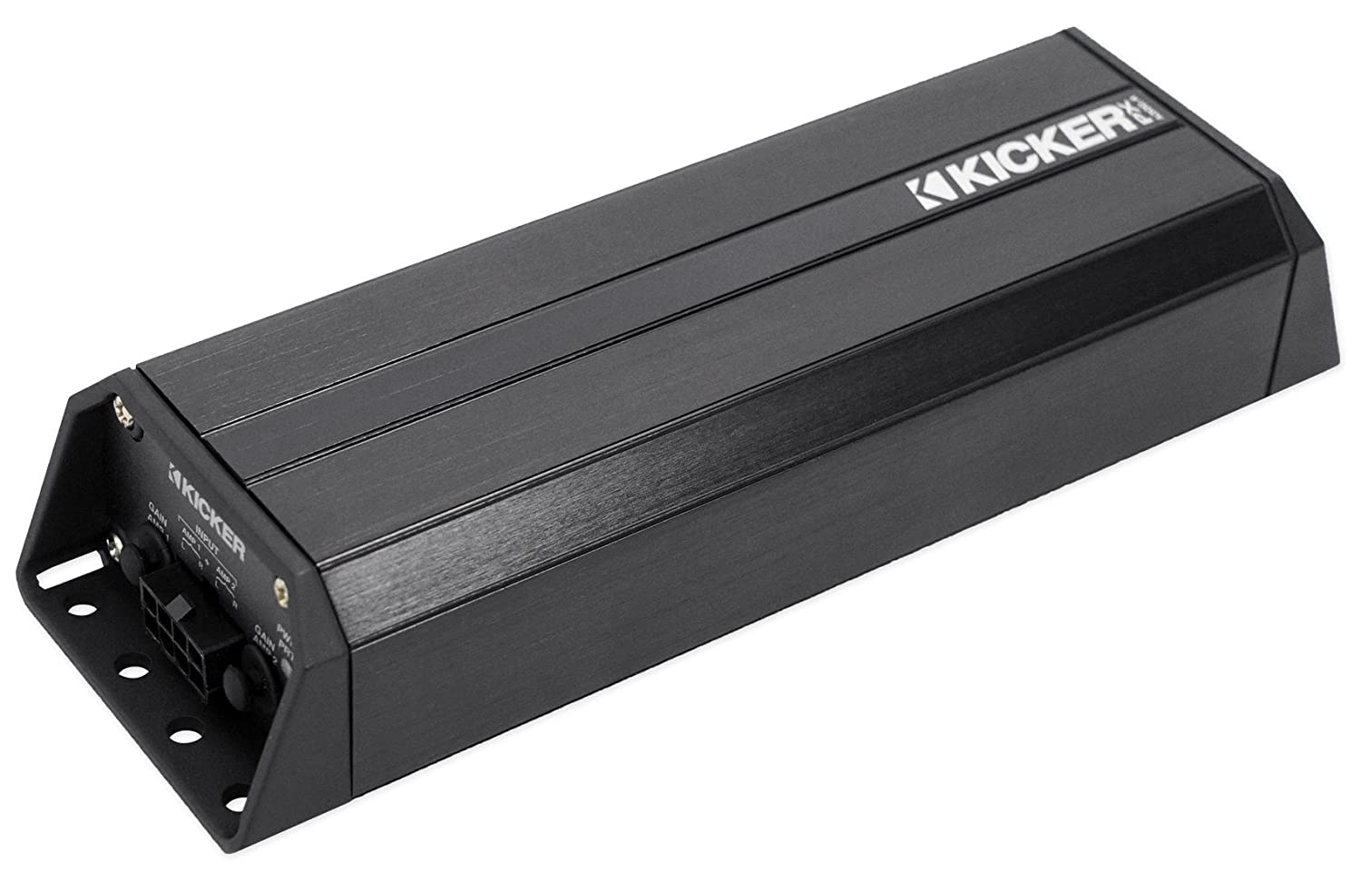 Amazon.com: Kicker 42PXA300.4 300w 4-Channel Amplifier 4 Polaris/Motorcycle/ATV/UTV/RZR/Cart: Car Electronics