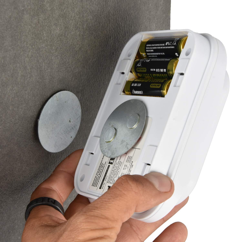 pegados 5 soportes magn/éticos para detectores de humo 3M