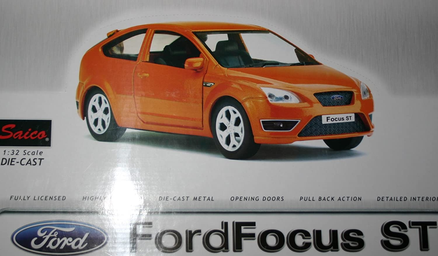 Ford Focus ST Car 132 Scale Model Highly Detailed Model By Saico Amazon.co.uk Toys u0026 Games & Ford Focus ST Car 1:32 Scale Model Highly Detailed Model By Saico ... markmcfarlin.com