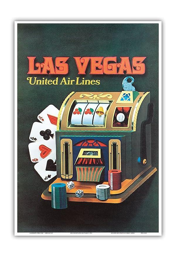 Pacifica Island Art Las Vegas, Nevada-United Air Lines-Slot ...