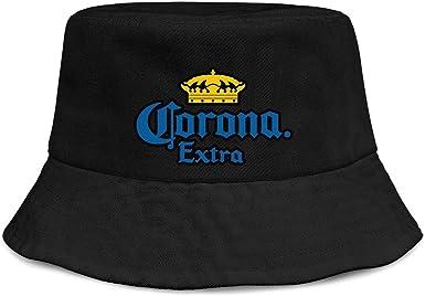 Unisex Bucket Hats Hiking Cap jdadaw Corona-Beer-Printing