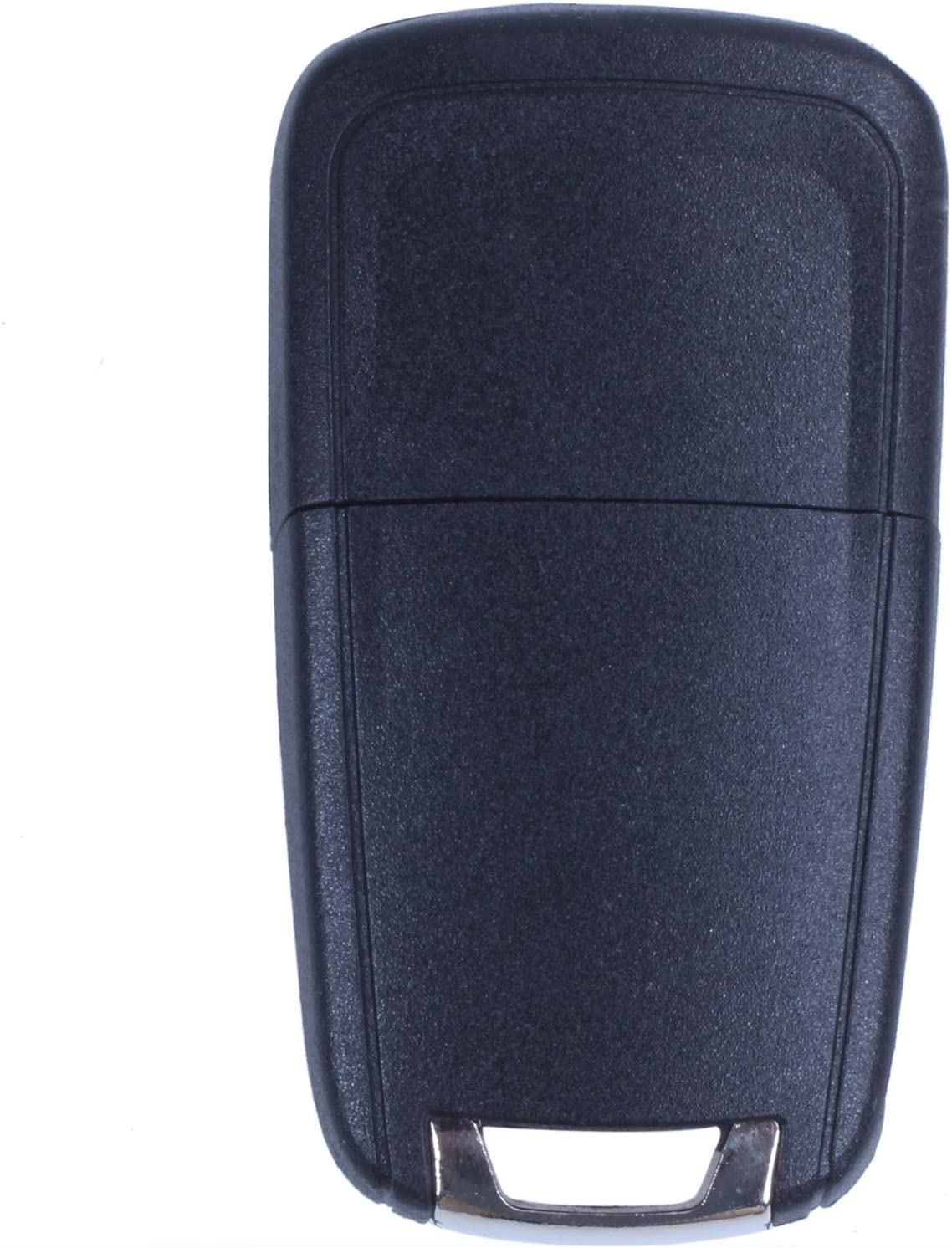 REFURBISHHOUSE Coque Pliable 2 Boutons CLE telecommande Vauxhall Opel Astra Insignia