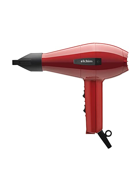 Elchim 2001 Classic High Pressure 1875 Watt Hair Dryer, Red