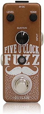Outlaw Effects Five O'clock Fuzz Pedal