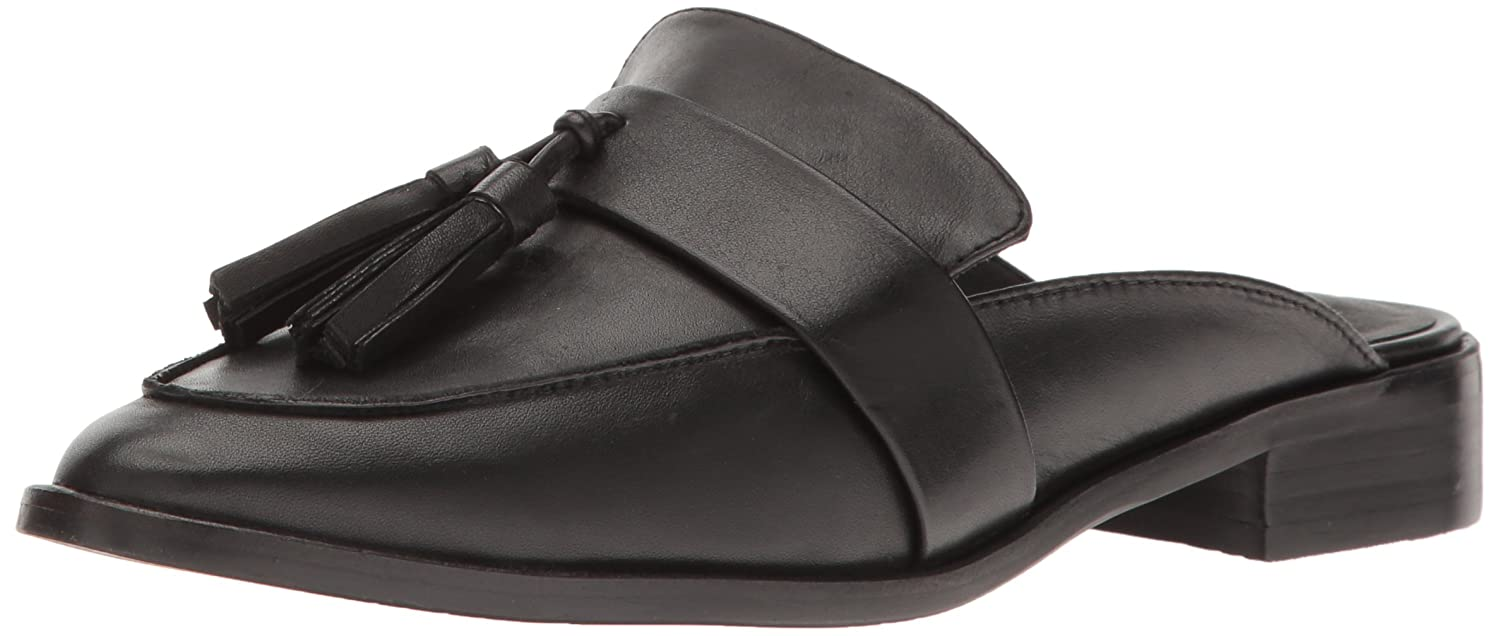 c6a79eafae8 Steve Madden Women s Magan Black Leather Shoe  Buy Online at Low Prices in  India - Amazon.in
