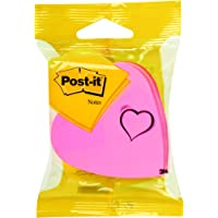 Post-it Note fantaisie Forme coeur 225 feuilles Rose