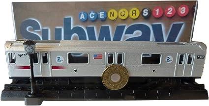 "NEW YORK CITY~METRO CARD HOLDER~ 3 1//2/"" X 2 3//8"