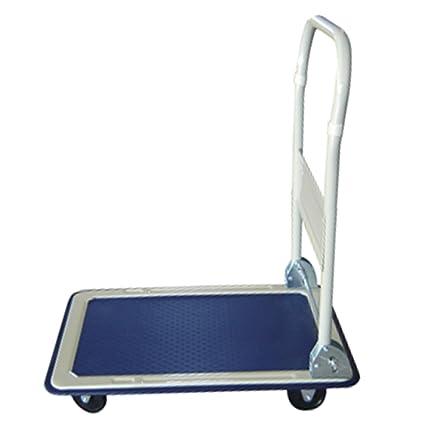 Plataforma carro – plegable – 150 Kg – Ayuda de transporte con ruedas – Paquete carro