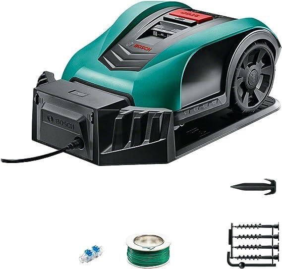 Bosch Robot cortacésped Indego 350, ancho de corte 19 cm, para un césped de hasta 350 m²: Amazon.es: Hogar