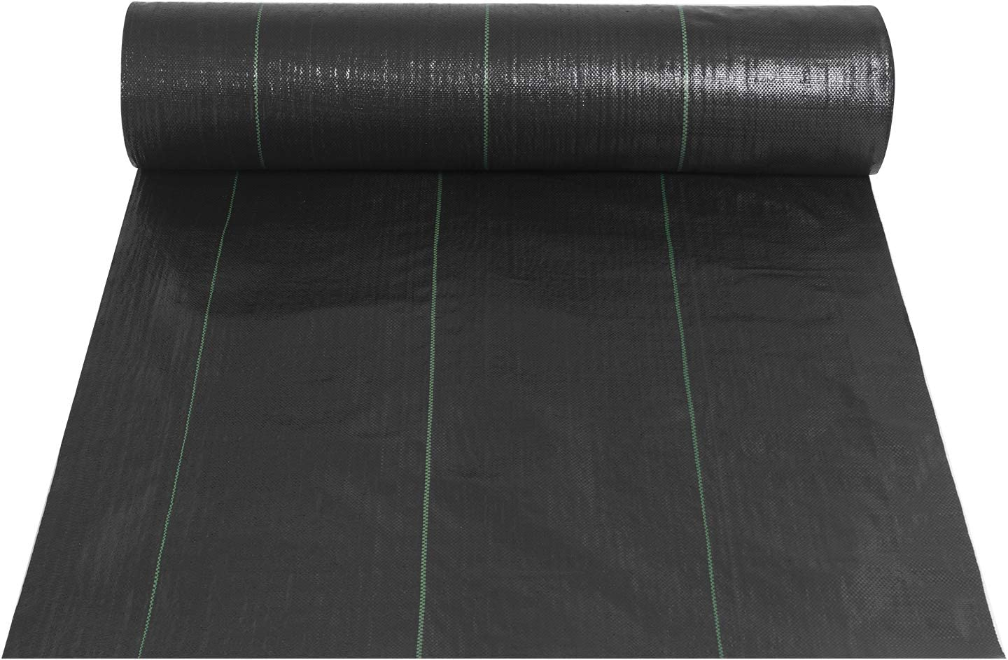 Landscape Fabric 6.5ft x 300ft - Geotextile Fabric Heavy Duty 3oz - Ground Cover Non Woven for Commercial Greenhouse, Yard, Garden Barrier Cloth Blocker Mat (6.5×300FT)