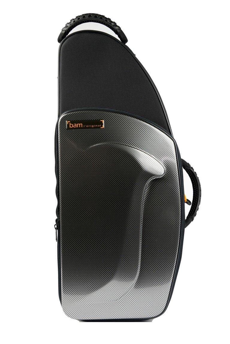 バム アルトサクソフォン用 ニュートレッキングケース ブラックカーボン TREK3021SC B00COUD17S シルバーカーボン  シルバーカーボン