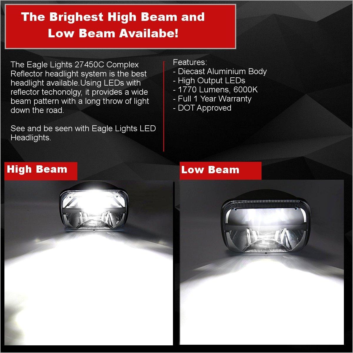 Amazon Com Eagle Lights E27450c 5 X 7 Set Of 2 Led Complex