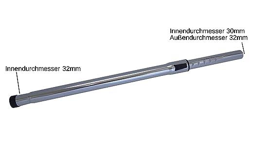 32mm Staubsaugerrohr Saugrohr Teleskoprohr für AEG AUSÖ 3000 UltraSilencer Öko