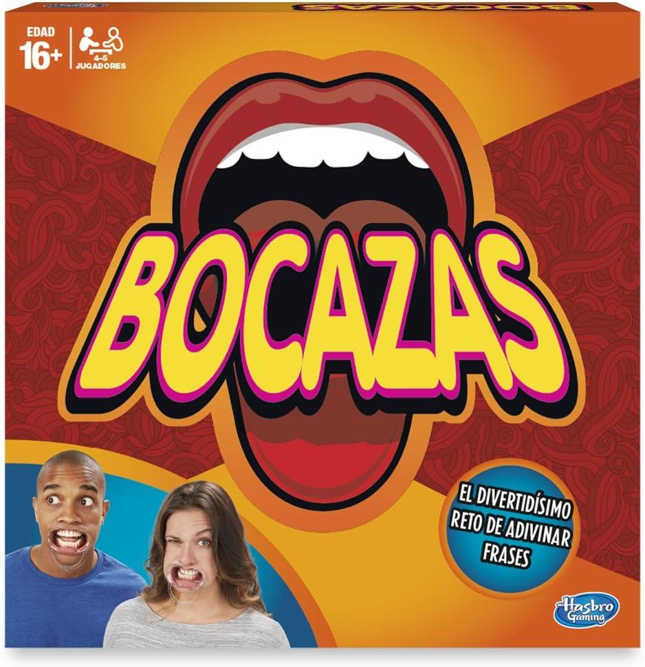 Hasbro Gaming- Juegos Bocazas: adivina frases (C2018546) , color/modelo surtido: Amazon.es: Juguetes y juegos