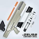 Jet Blaster X Zeus 2 Nerf Longshot Shell Mod