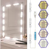 Led Vanity Mirror Lights Kit, SELFILA Hollywood Style Vanity Make Up Light, 11ft with Dimmable Color and Brightness…
