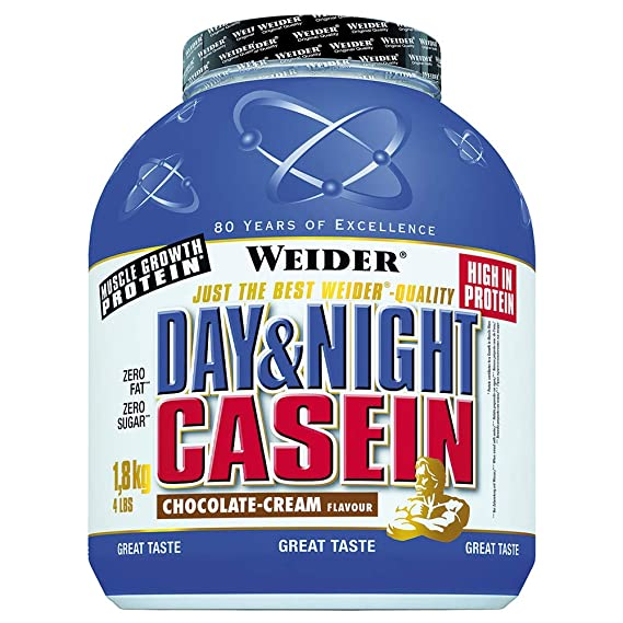 Weider Day & Night Casein - 1,8 Kg Vainilla: Amazon.es ...