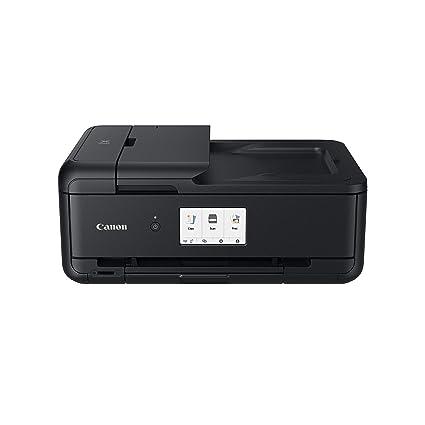 Canon Pixma TS9550 - Impresora multifunción, 4800 x 1200 PPP, LCD de 10.8 cm, Negro