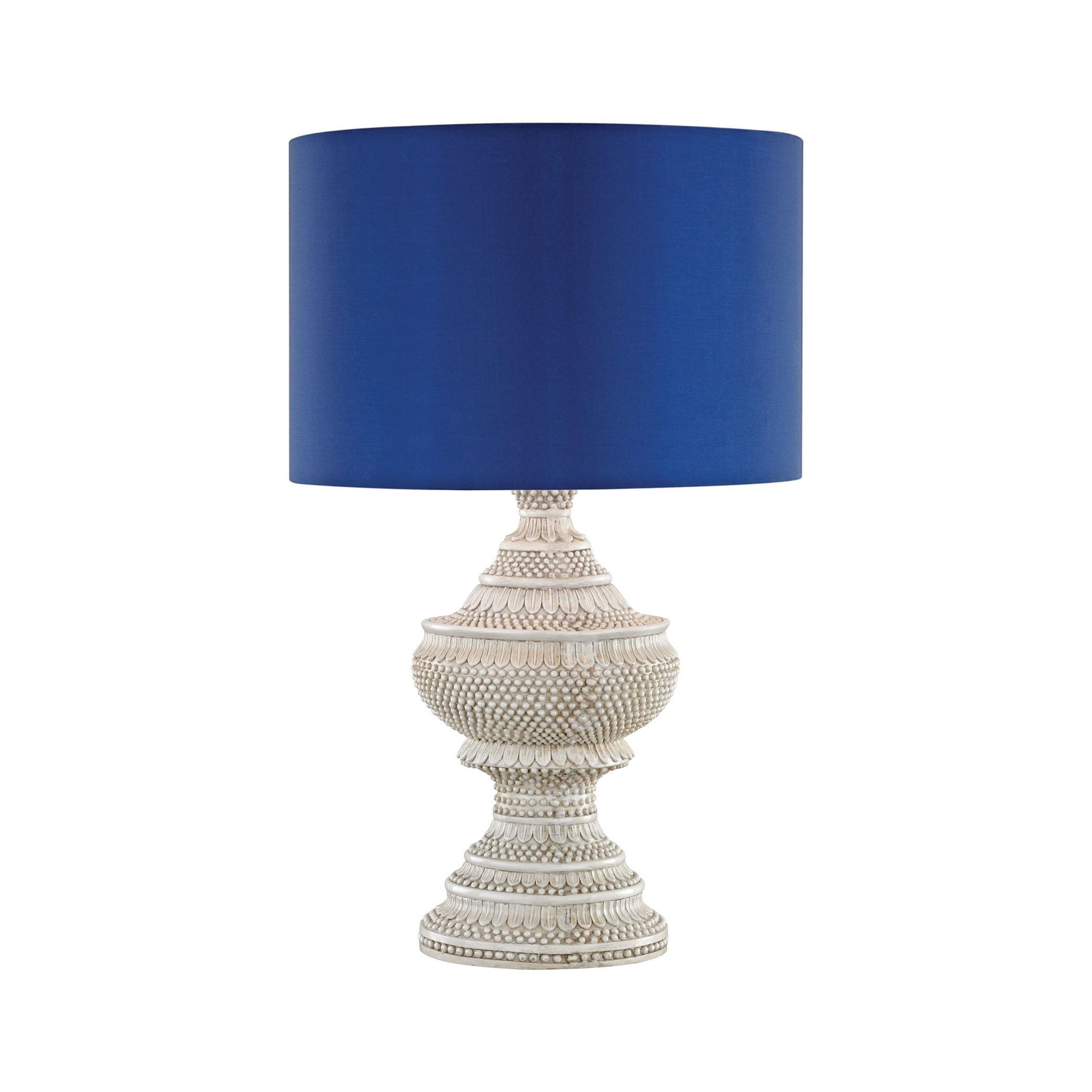Kokopo Outdoor Table Lamp With Ultramarine Shade