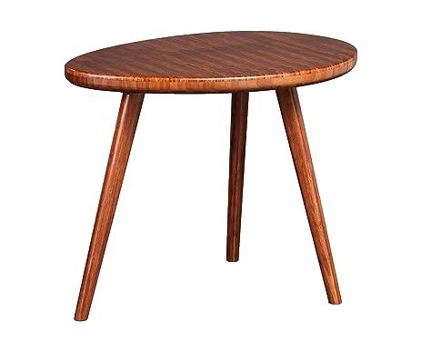 Greenington GRC002E1 Roche End Grain Bamboo End Table, Exotic