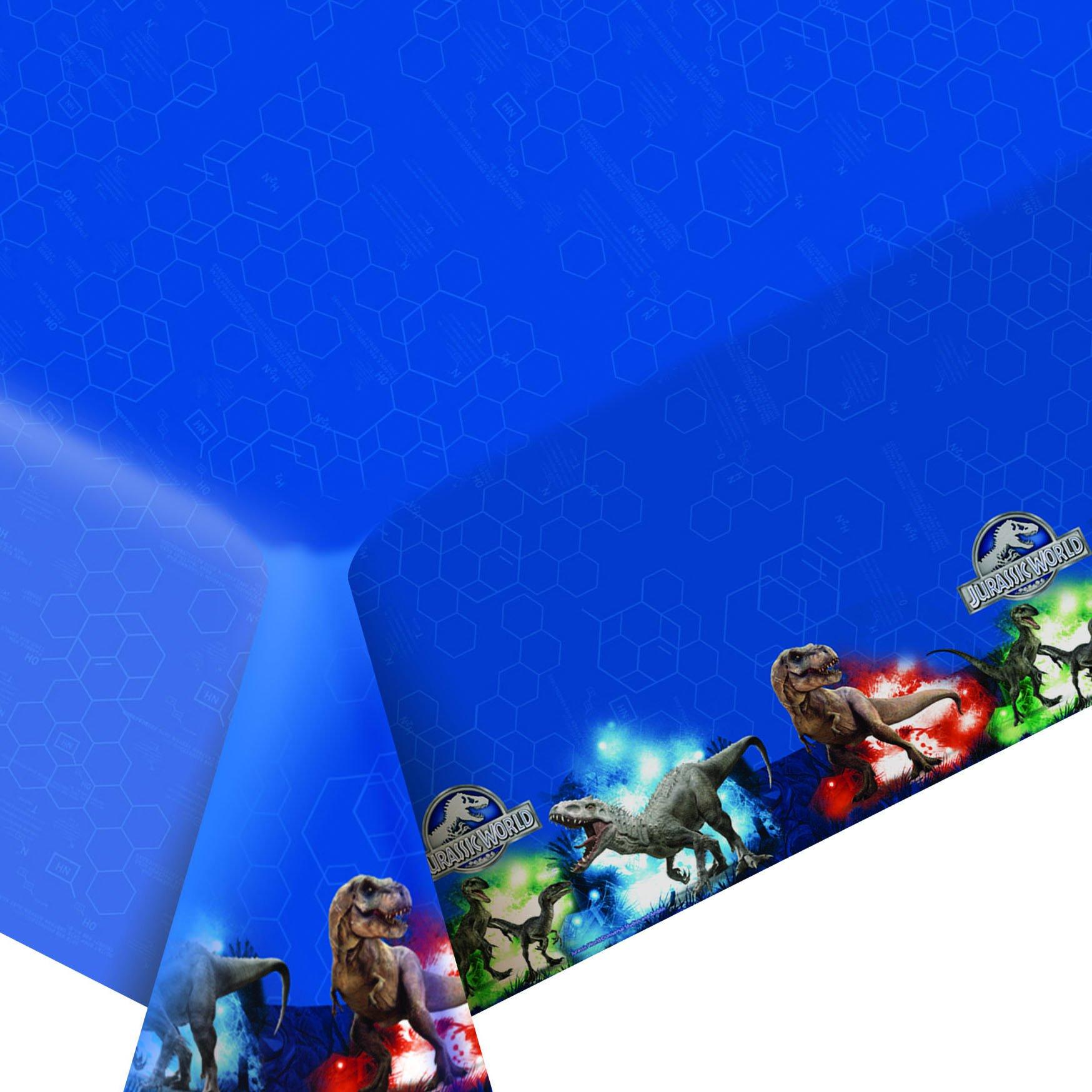 Jurassic World 1psc Tablecloths Polyethylene Birthday Party Favors Party Supplies