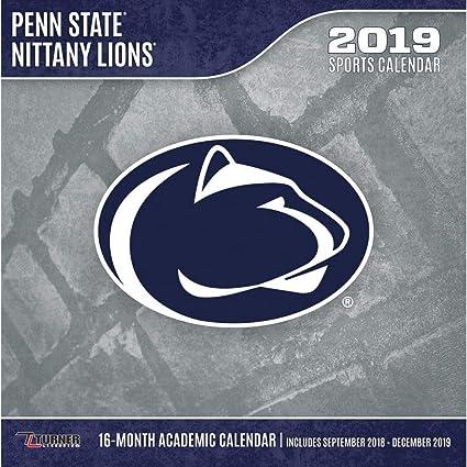 Penn State Academic Calendar 2019 Amazon.: Penn State Nittany Lions Wall Calendar, Penn State
