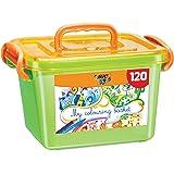 BIC Kids Colouring Box - 60 Colouring Pencils/60 Colouring Felt Pens