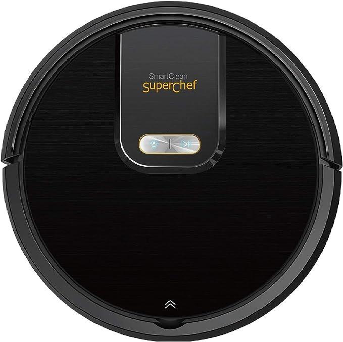 Robot Aspirador Superchef Smart Clean SF421, 4 en 1 Aspira, Barre ...