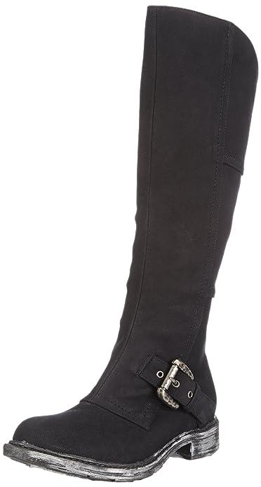 Andrea Conti 0616506, Botas XL (por Encima de la Rodilla) para Mujer, Negro (Schwarz 002), 41 EU: Amazon.es: Zapatos y complementos