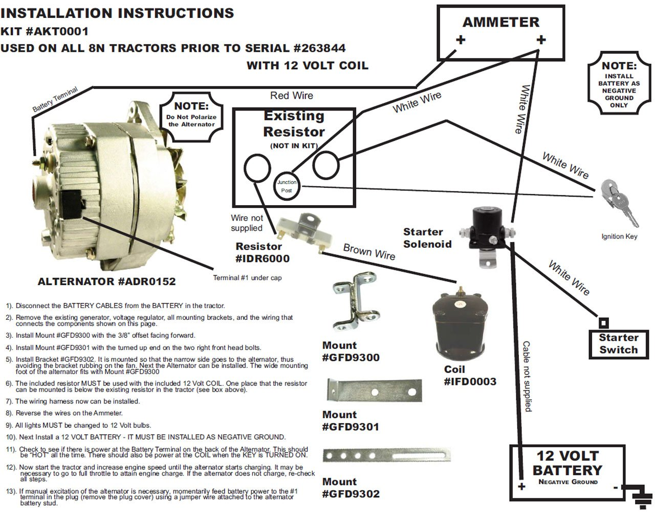 21v 8n 3 Wire Alternator Diagram | Wiring Diagram  Wire Ford Alternator Voltage Diagram on