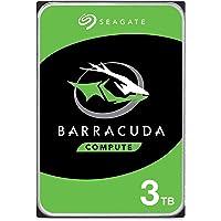 Seagate BarraCuda 3TB Internal Hard Drive HDD Ã 3.5 Inch SATA 6 Gb/s 7200 RPM 64MB Cache for Computer Desktop PC (ST3000DM008)