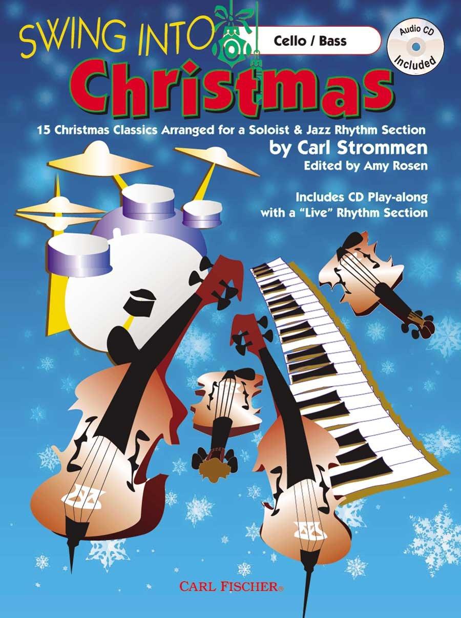 Download ATJ327 - Swing Into Christmas - Cello/Bass - BK/CD pdf epub
