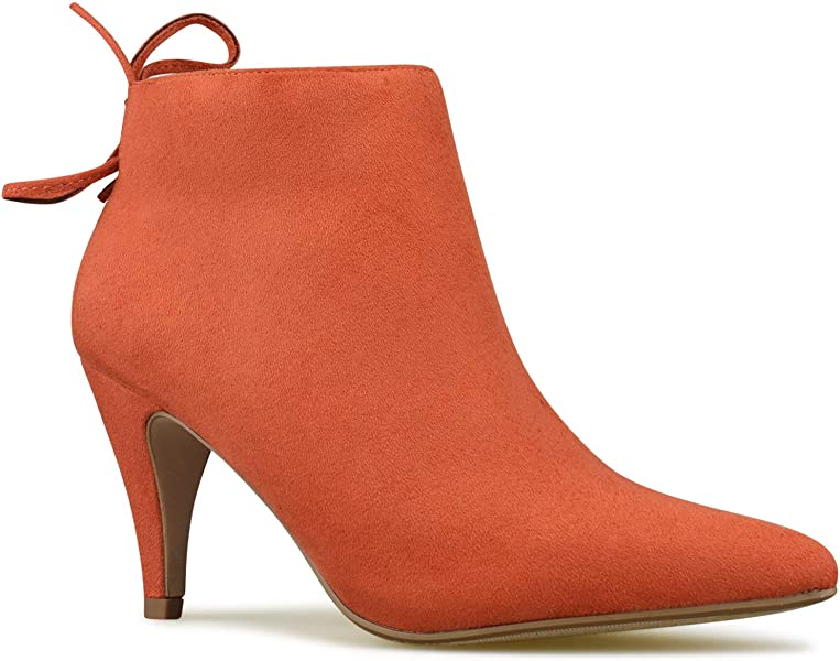7b28128f5944 Premier Standard - Women s Zipper Closed Toe Ankle Bootie - Comfortable  Thin Heel– Low Heel