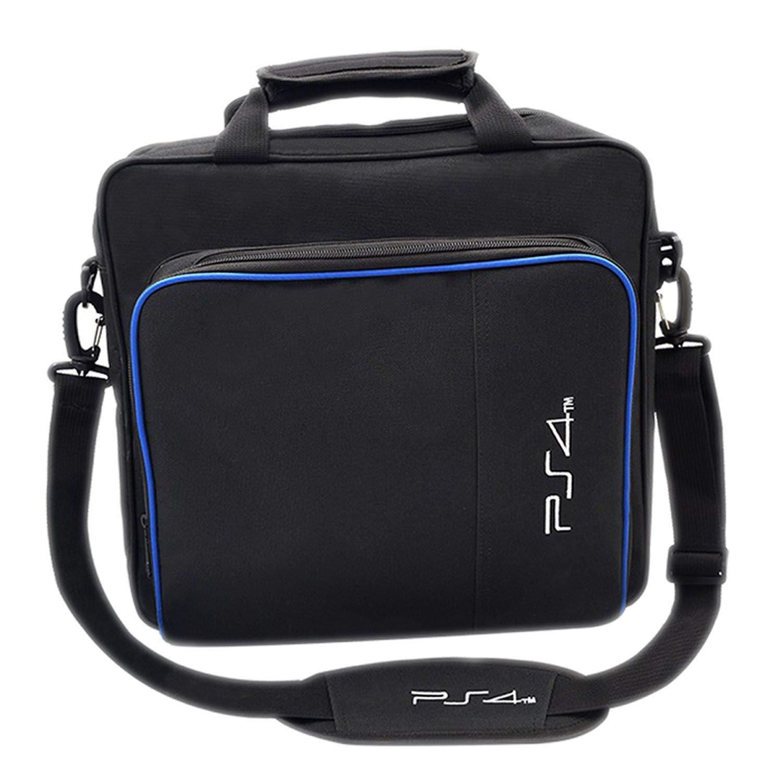 Handbag Multifunction Bag for PS4/PS4 Pro Slim Original Size Protect Shoulder Carry Bag Canvas Case for Playstation 4 Consol,for PS4-2