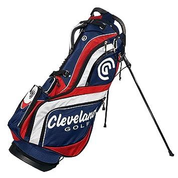 Cleveland C0089716 Bolsa de Tripode de Golf, Mujer, Azul/Rojo/Blanco, Talla Única
