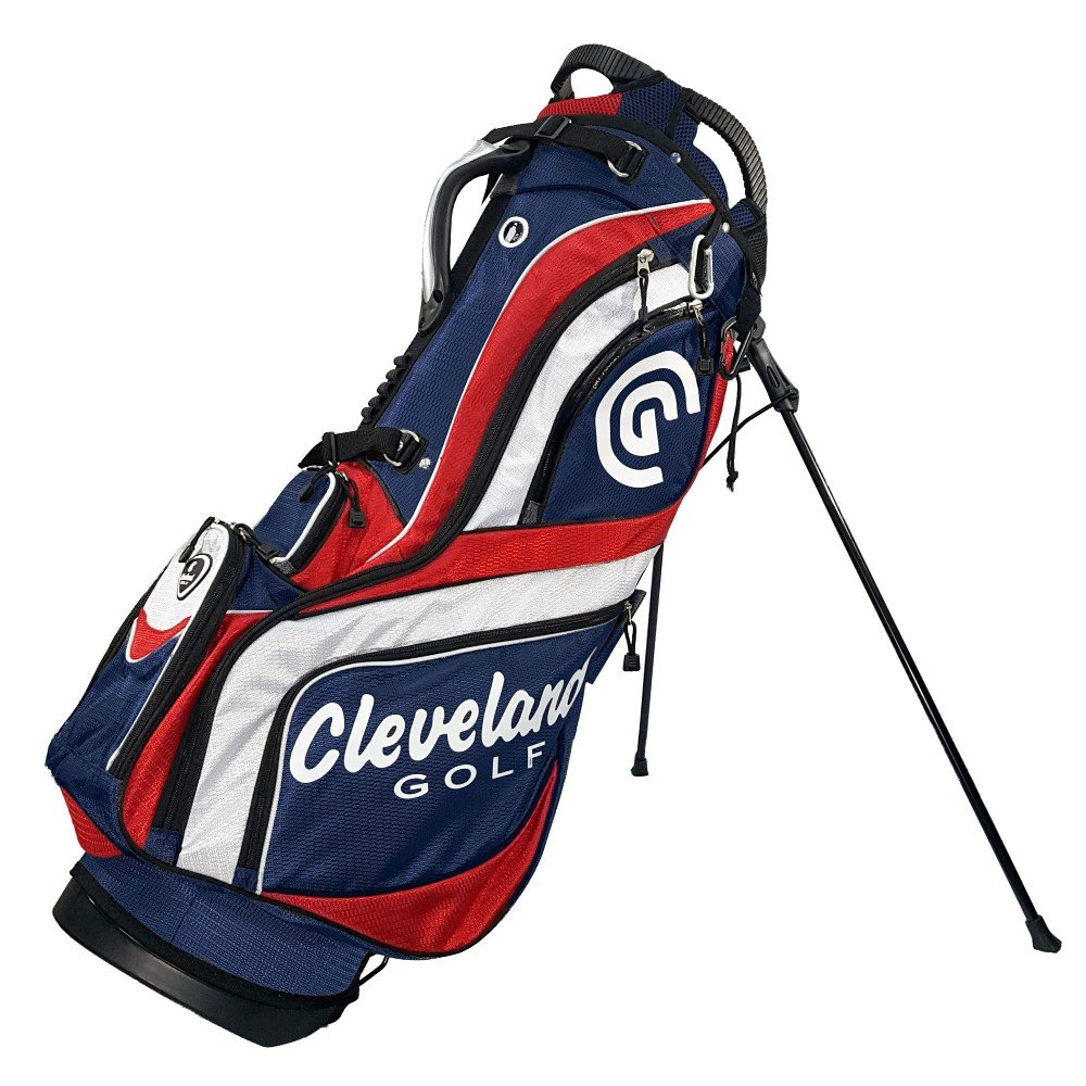 Cleveland Golf Men's Cg Stand Bag, Red/White/Blue