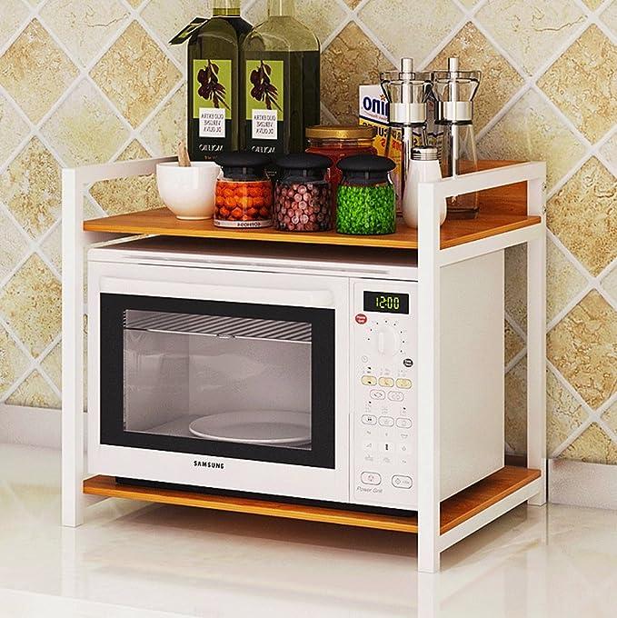 Estantería de Cocina Estante de múltiples hornos de microondas ...