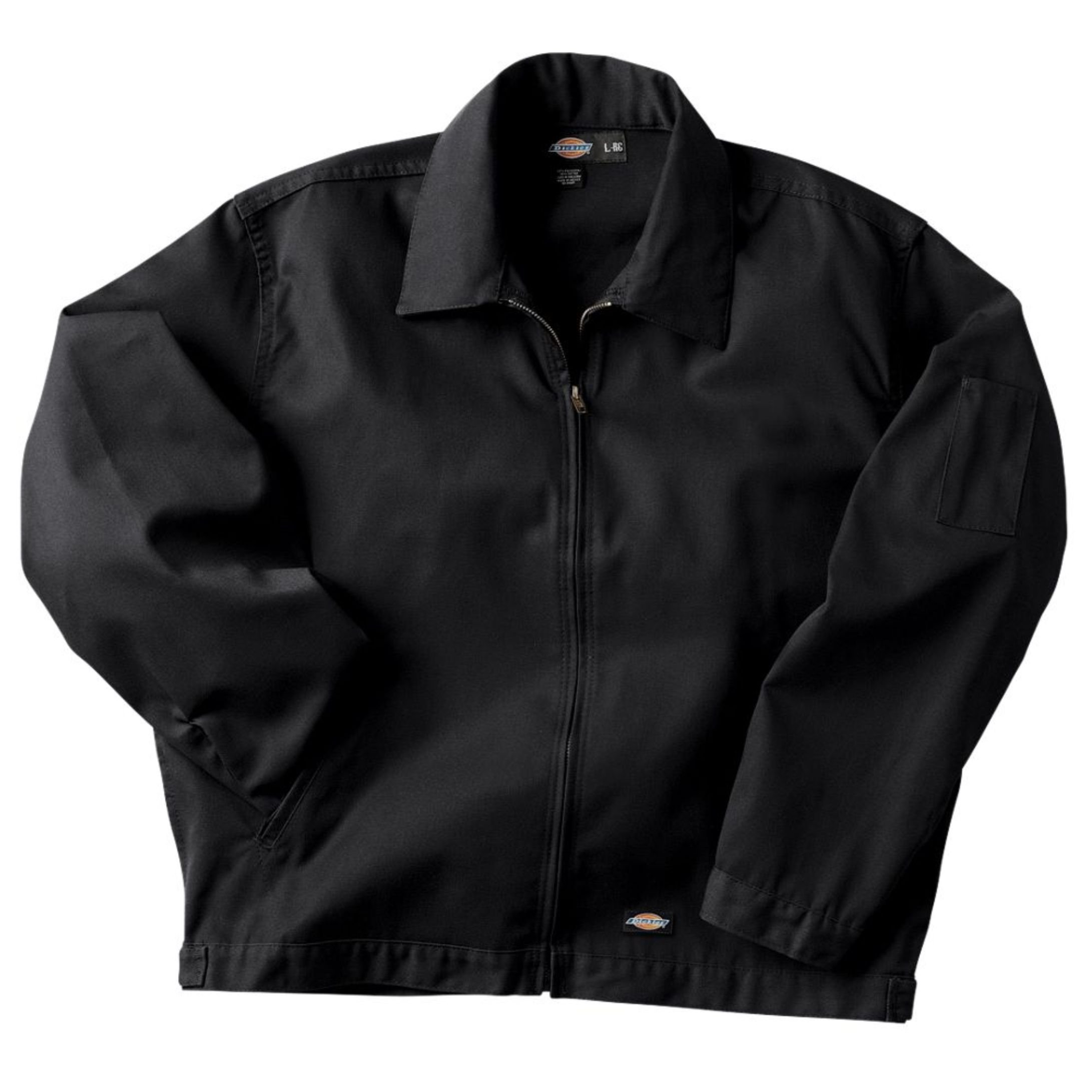 Dickies Men's Unlined Eisenhower Jacket, Black, Large