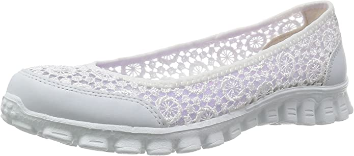 Skechers EZ Flex 2 Flighty Sneakers Damen Weiß