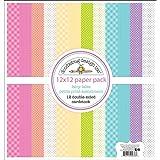 Doodlebug DOO5676 FT Paper Pack Petite, 12 x 12