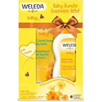 Weleda Baby Body Lotion & Shampoo Body Wash, 6.8 Ounce (Pack of 2)