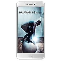 Huawei P8 Lite 2017 Smartphone 5,2 pollici Full HD, Kirin 655 Octa Core, 3GB RAM, 16 GB ROM, Fotocamera da 12MP, 4G, Android 7.0, Bianco
