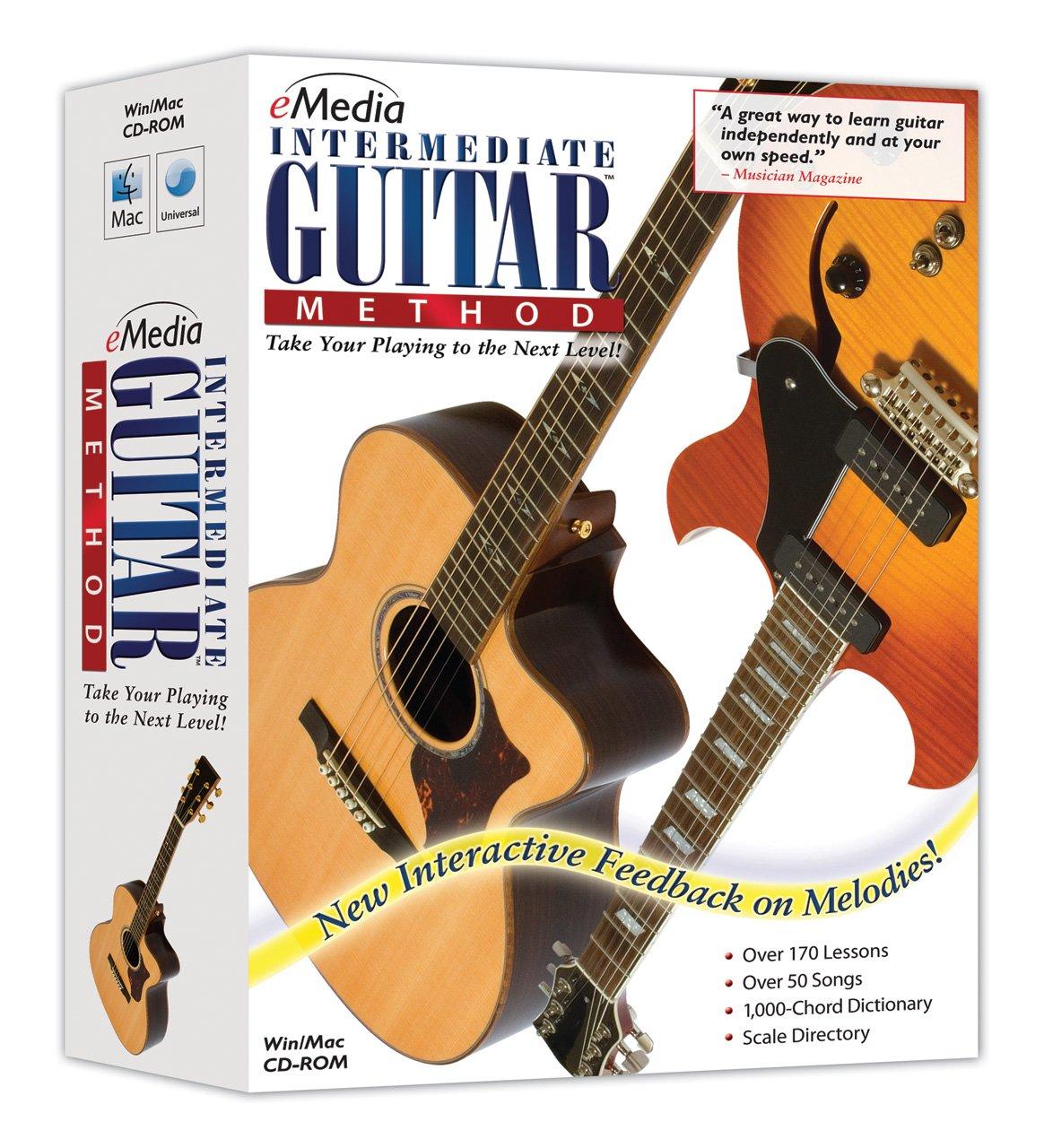 eMedia Intermediate Guitar Method v3