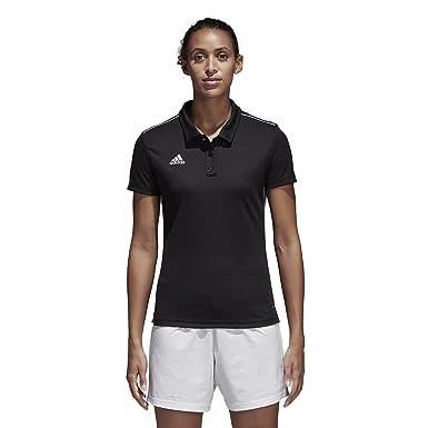 adidas Core18 W Polo, Mujer: Amazon.es: Ropa y accesorios