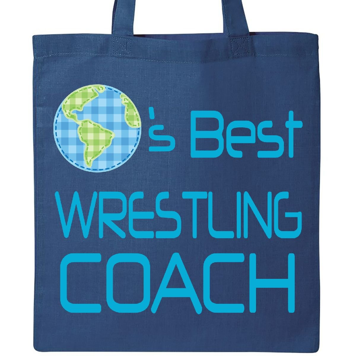 Inktastic - Wrestling Coach Planets Best Tote Bag Royal Blue 1ca12