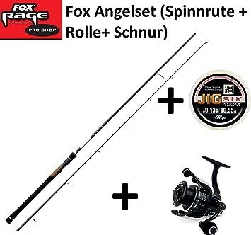 Señuelos de pesca - Ultron caña de spinning 210 cm 20-50g + papel ...