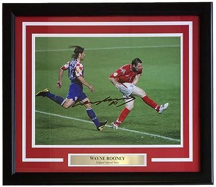 Wayne Rooney Signed Framed 12x16 England vs Croatia Soccer Photo SI+ ... 88e1c60d0