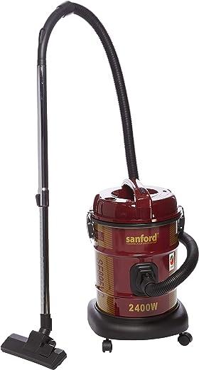 مكنسة كهربائية من سانفورد، احمر، 20 لتر، 2400 واط، SF895VC BS