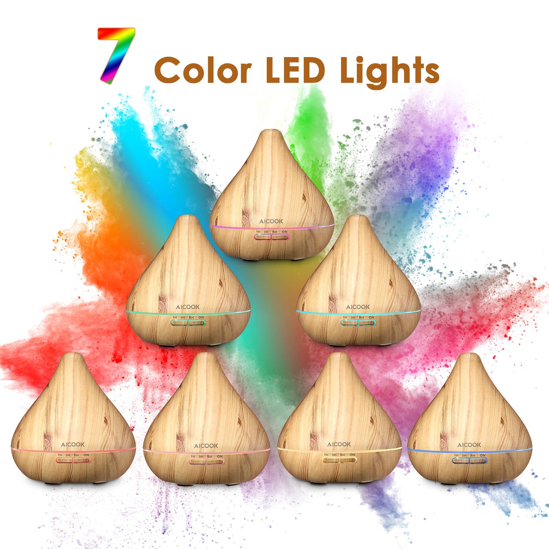 Diffusore e Umidificatore con luce LED