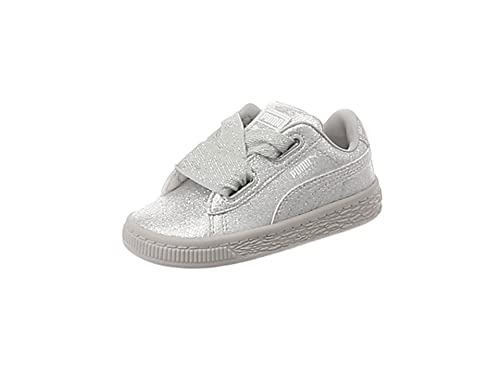 1767f738e5697 Puma Basket Heart Holiday Glamour INF Argent